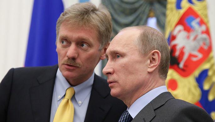 Песков о «минированиях» на пути кортежа Путина