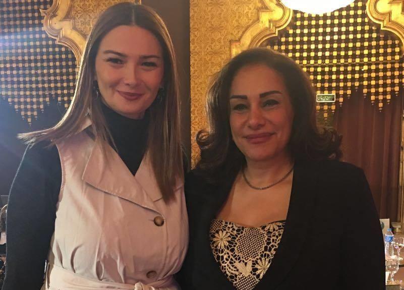 Paşayeva  Mekkavini Bakıya dəvət etdi - Foto
