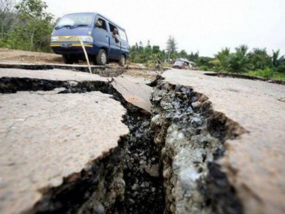Мощное землетрясение произошло на юге Китая