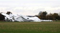 Разбился крупнейший в мире дирижабль - Фото