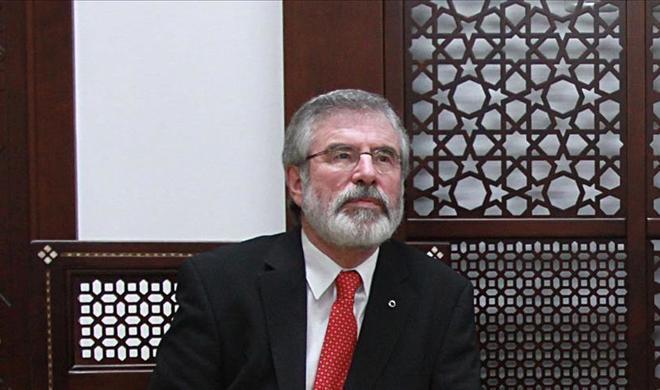 Gerry Adams to retire as Sinn Fein president next year