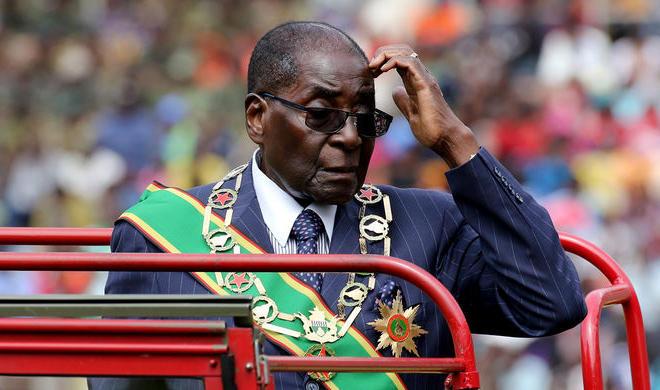 Zimbabwe's Mugabe fired as ruling party