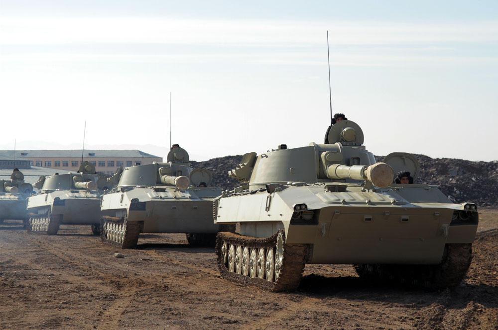 Армия в Нахчыване приведена в боеготовность - Фото