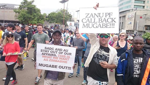 В Зимбабве запустили процесс импичмента Мугабе