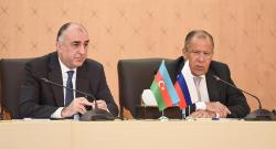 Мамедъяров и Лавров подписали совместный документ