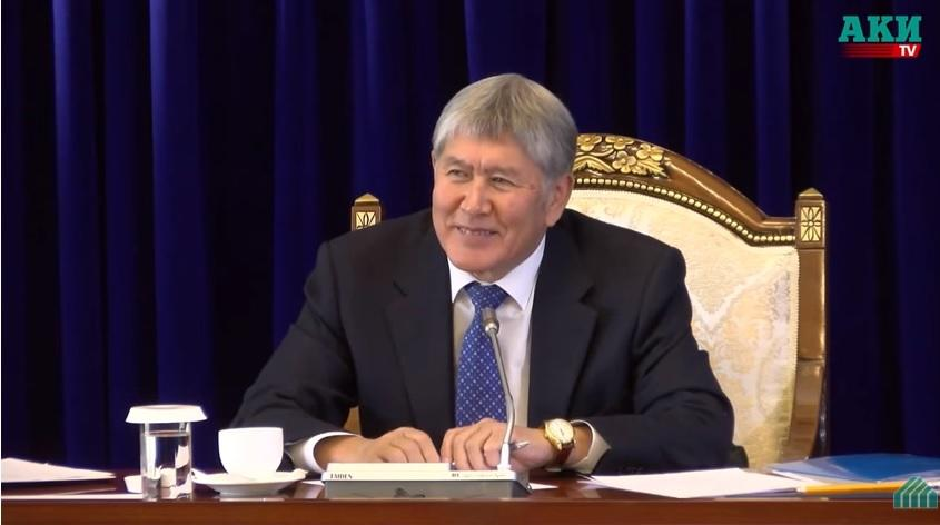 Jurnalist Atambayevdən saatını istədi, əvəzində... - Video