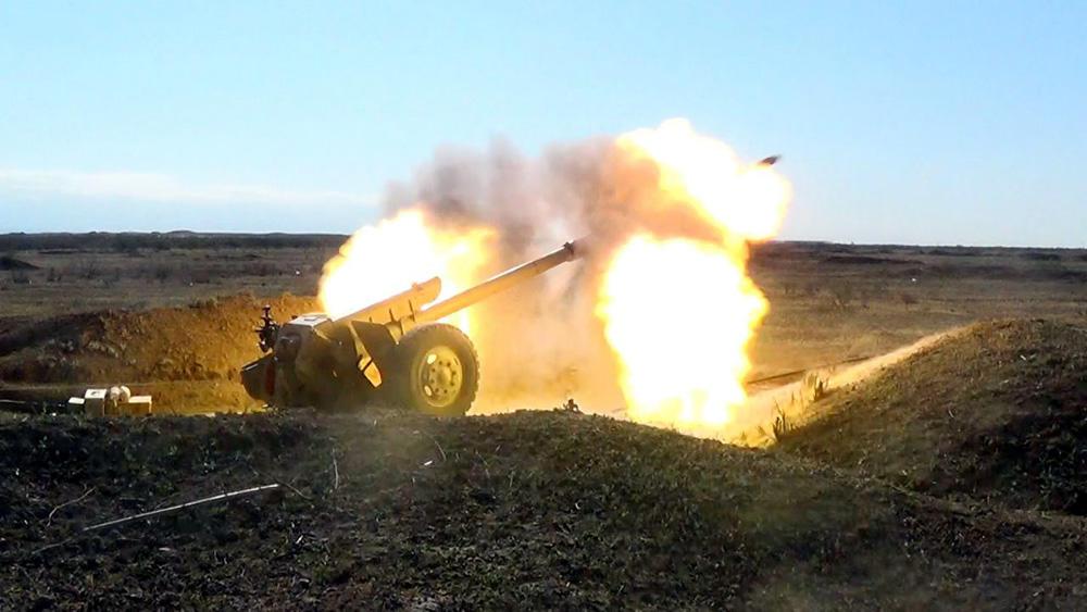 Армия провела боевые стрельбы - Фото