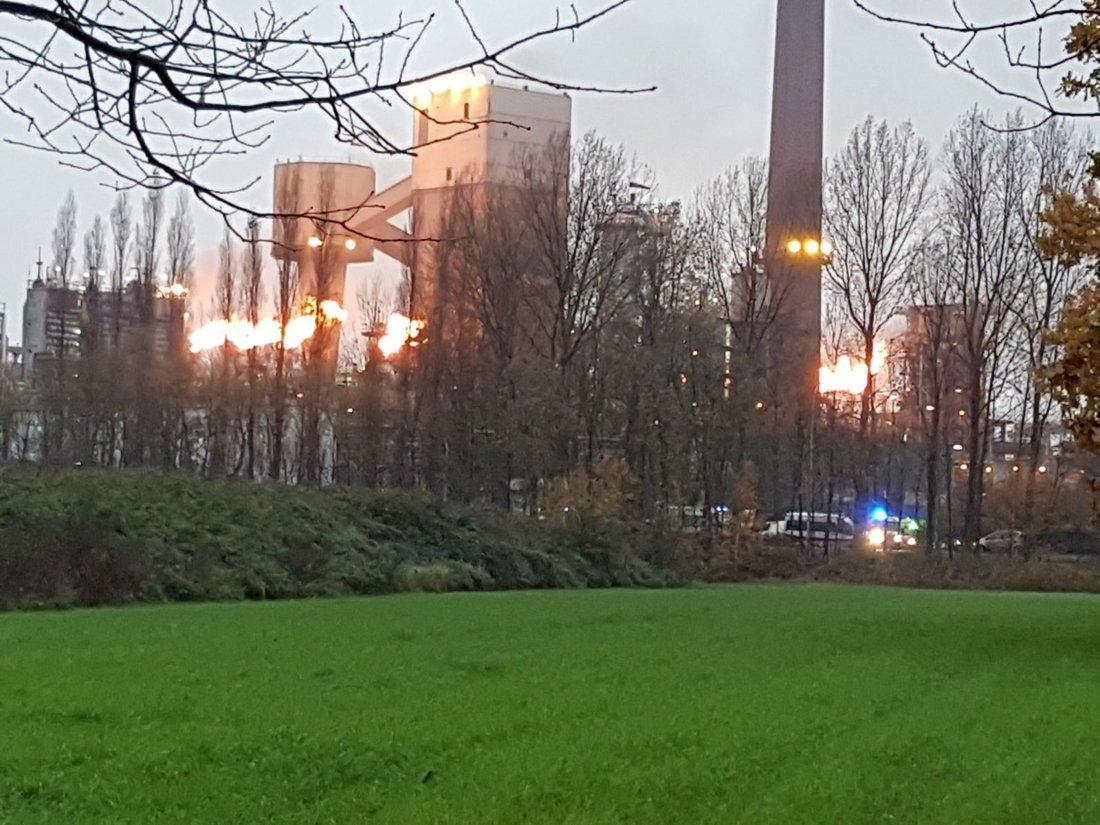В Бельгии на металлургическом заводе прогремел взрыв