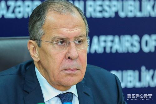 Lavrov in Baku: for meeting with Aliyev