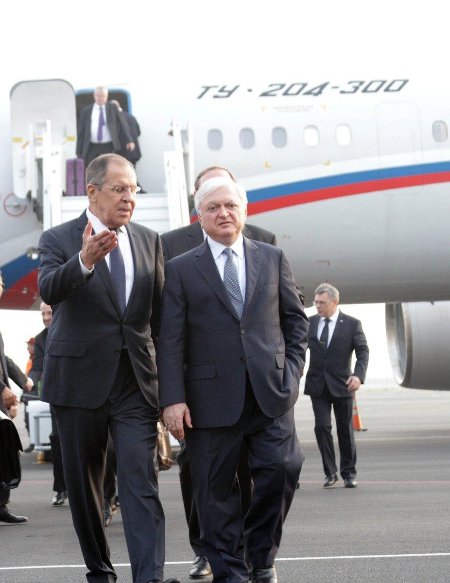 Лавров прибыл в Ереван