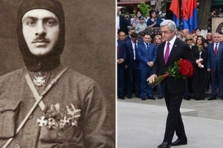 Rusiya telekanalı Sərkisyanı faşist adlandırdı - Video