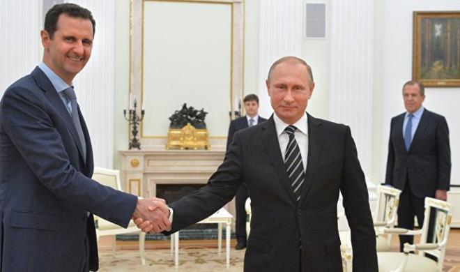 В Сочи прошла встреча Путина с Асадом