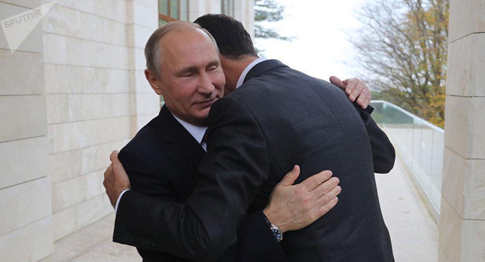 Путин четыре часа общался с Асадом