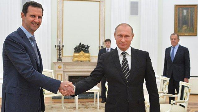 Əsəddən Putinin məktubuna cavab: Qürur duyuram