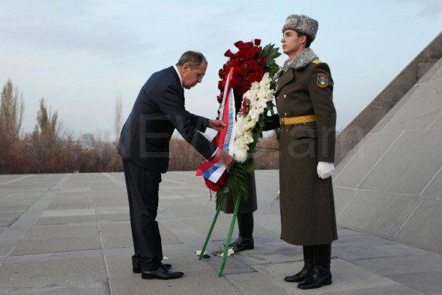 Lavrov in Yerevan