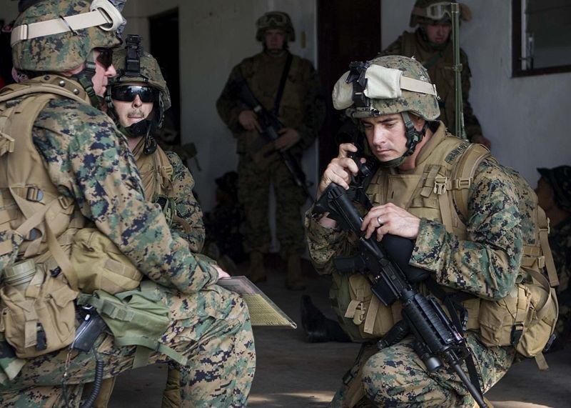 Морские пехотинцы США пошли на штурм ЦРУ