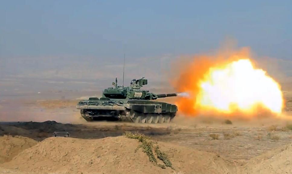 На военных играх выполнены практические стрельбы - Видео