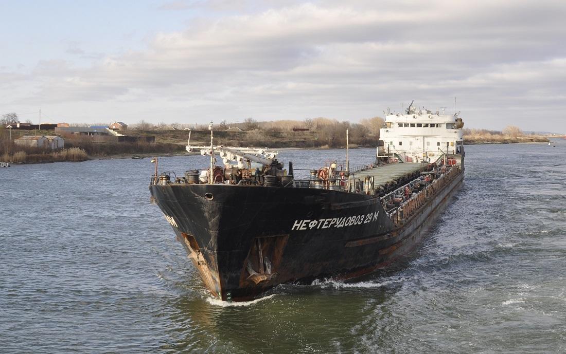 Российский корабль терпит бедствие в Черном море