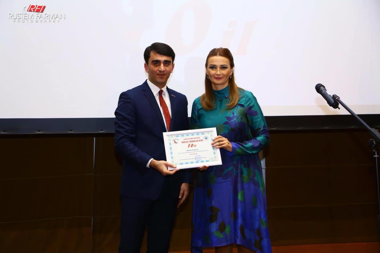 Paşayeva milli mükafata layiq görüldü – Foto