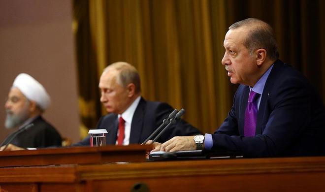 Эрдоган требует исключить террористов из переговоров
