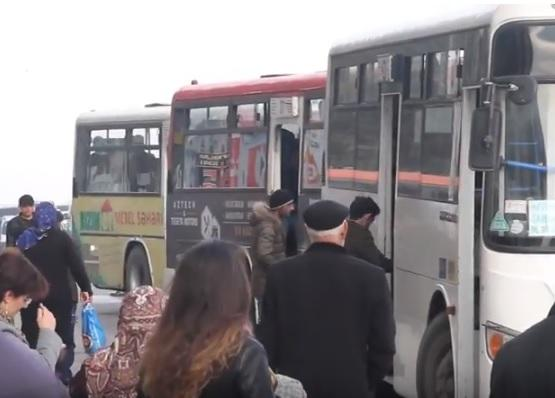 Daha bir avtobus qəzası: