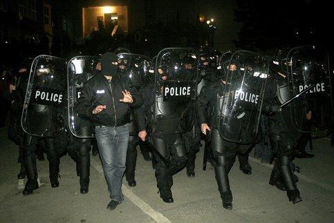 В Тбилиси проводится контртеррористическая операция