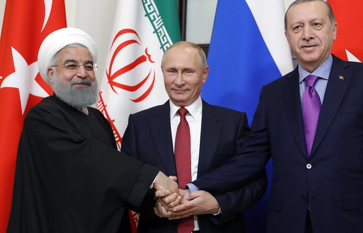 Ərdoğan və Putin İrana gedir