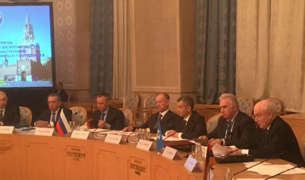 Рамиз Мехтиев на встрече секретарей Совбеза СНГ