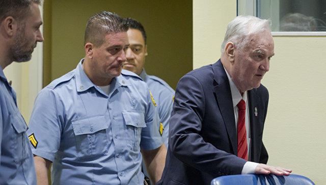 Генерал Младич приговорен к пожизненному