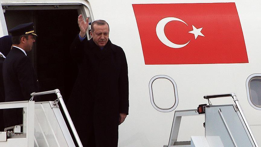 Эрдоган прибыл в Сочи - Обновлено