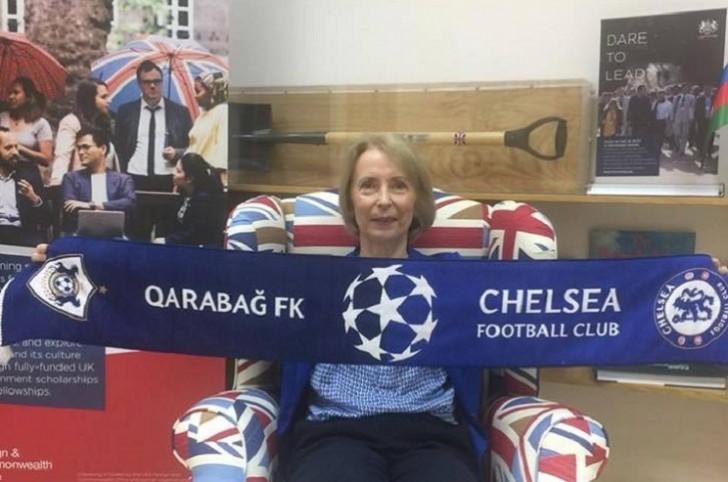 Посол Великобритании: «Я огорчена проигрышем «Карабаха»
