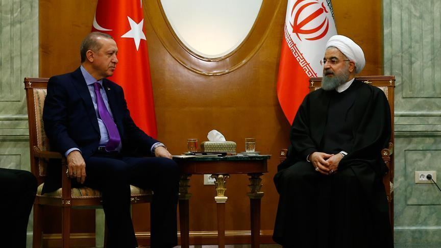 اردوغان روحانی ایله سوچیده گؤروشدو