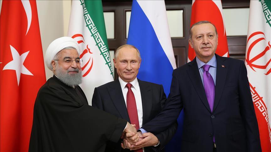 Путин, Рухани и Эрдоган встречаются в Тегеране