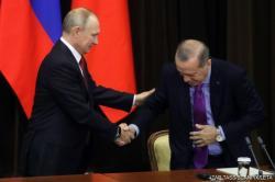 Путин в Сочи уронил стул Эрдогана - Видео