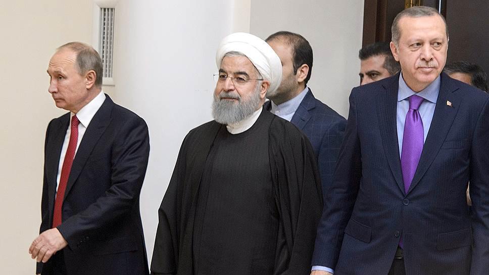 اردوغان-پوتین-روحانی گؤروشو: مهم مئساژلار وئریلدی