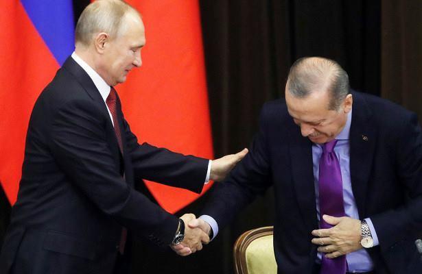 پوتین اردوغانین اوتوراجاغینی آشیردی - ویدئو