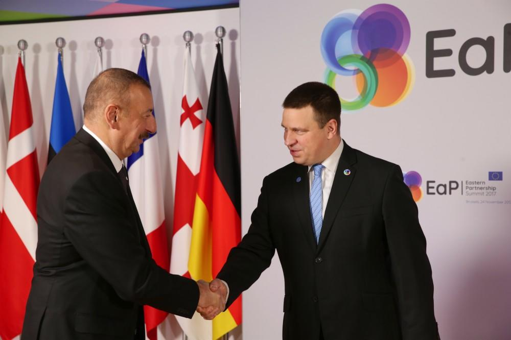 Ilham Aliyev's working visit to Brussels has ended