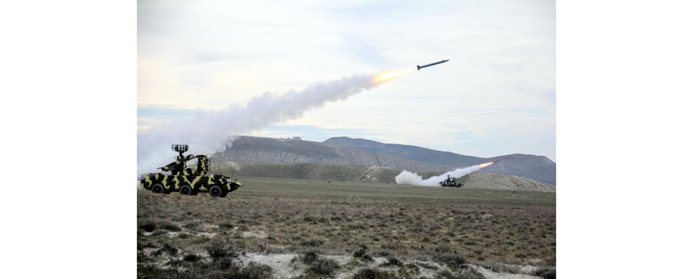 The Air Force of Azerbaijan conducted tactical exercises