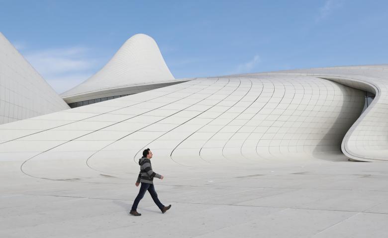 Reuters выбрал Центр Гейдара Алиева - Фото