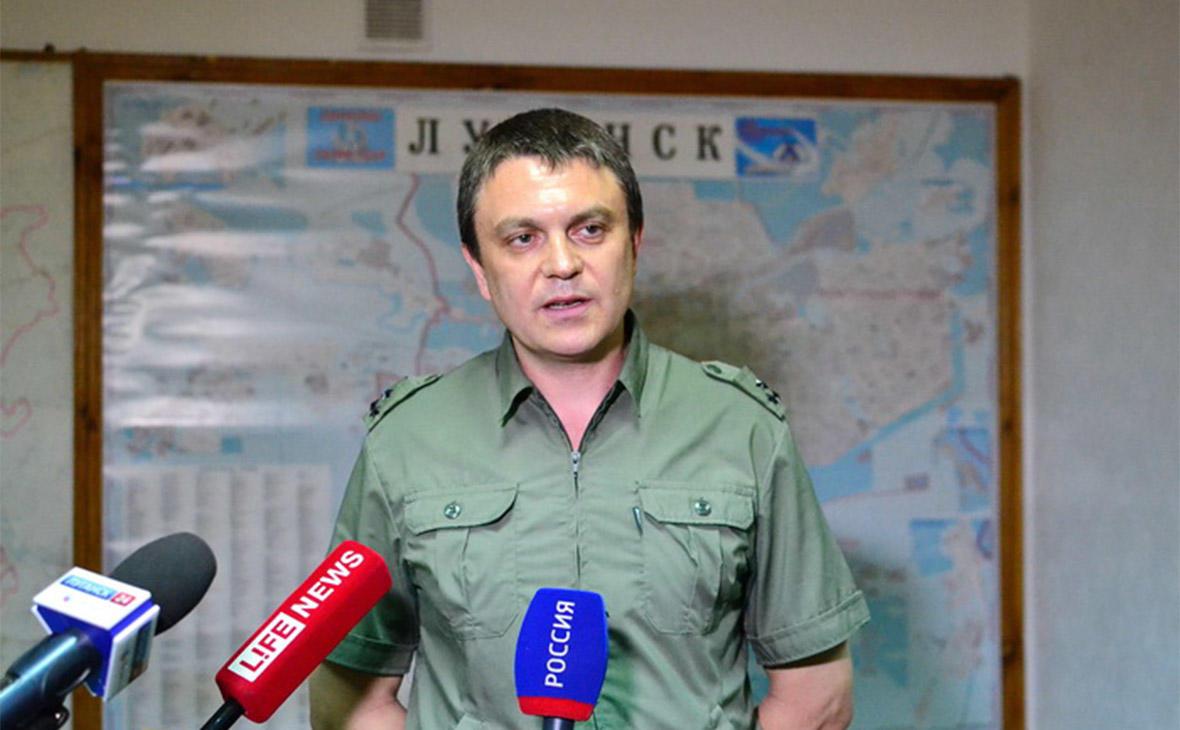 """Глава спецслужб """"ЛНР"""" объявил себя президентом"""