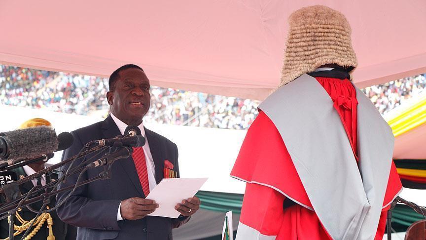 Новый президент Зимбабве принес присягу