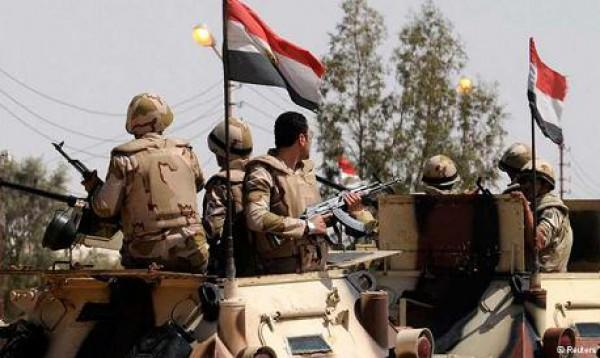 Egypt's aircraft destroy terrorist vehicles, weapons