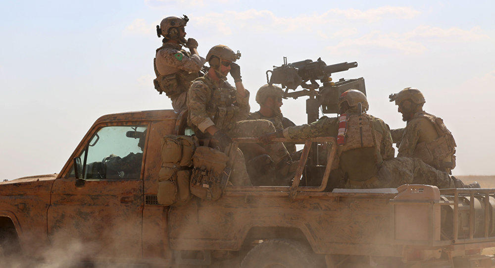 Pentagon reveals official number of US troops in Syria