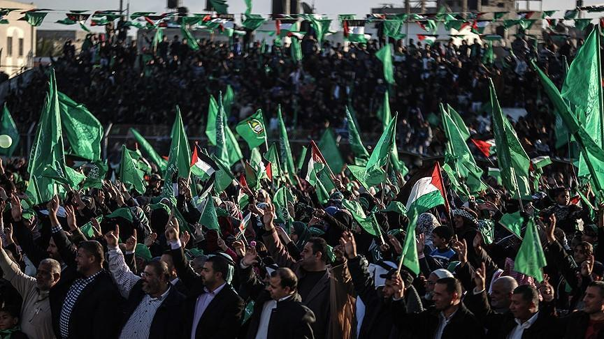Hamas celebrates its 32nd anniversary in Gaza
