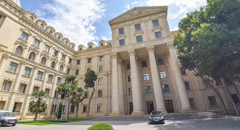Azerbaijani MFA posted on the liberation of Lachin