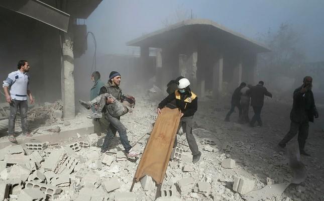 İrana aid 9 bina tamamilə dağıdıldı - Pentaqon