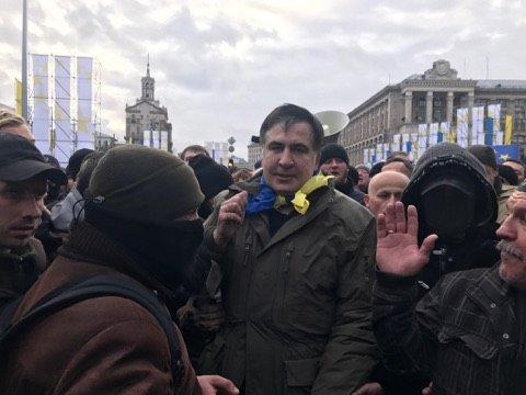 Саакашвили готов умереть за Украину