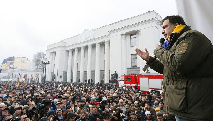 Саакашвили предложил судить Порошенко