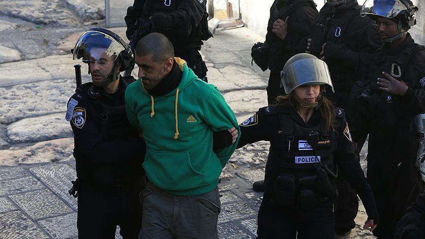 Israeli detain 18 Palestinians on terrorism suspicion