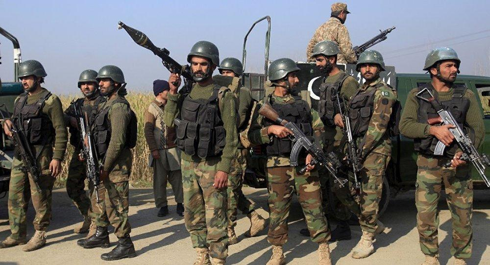 Four Pakistani soldiers killed on the Afghan border